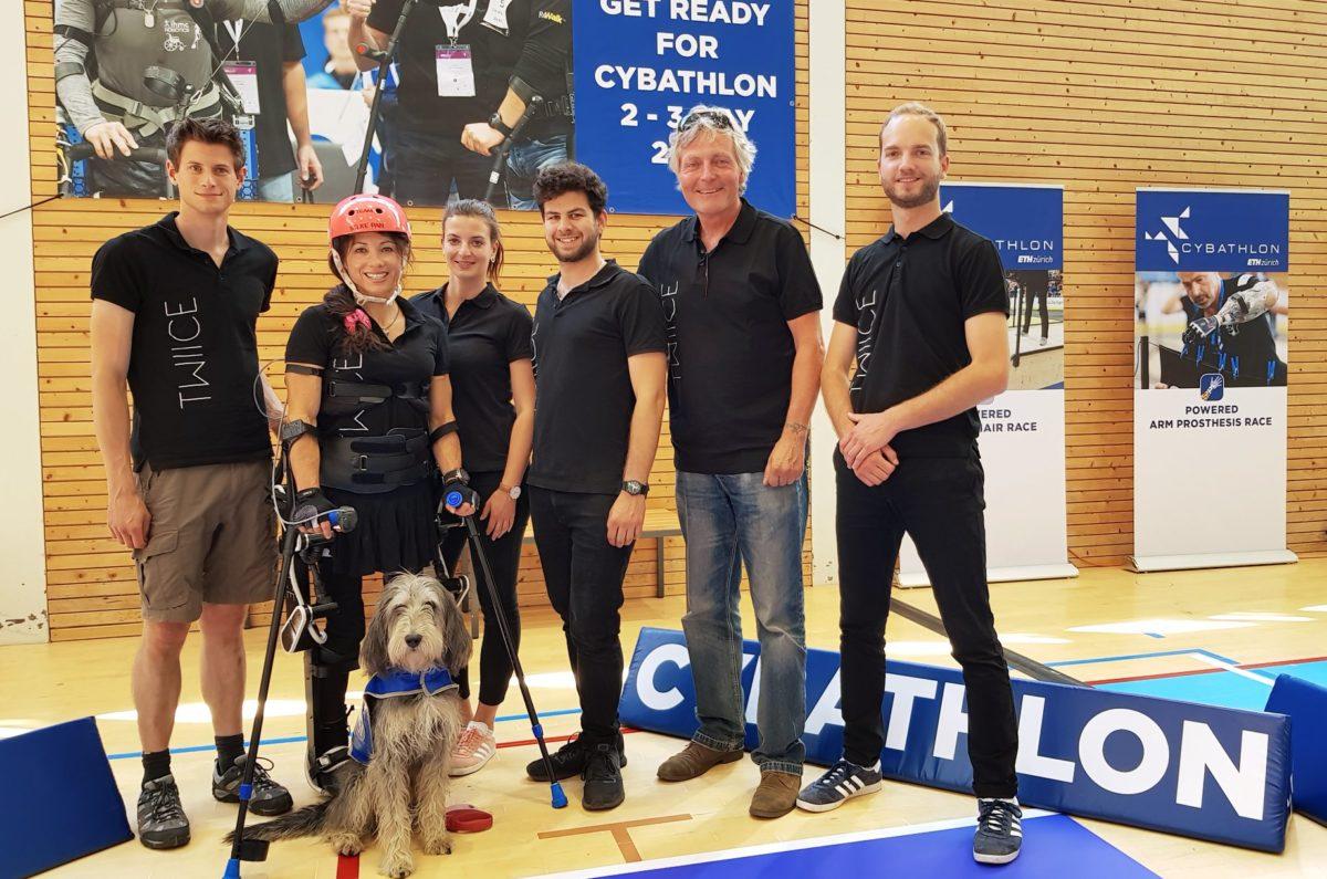 Cybathlon team photo